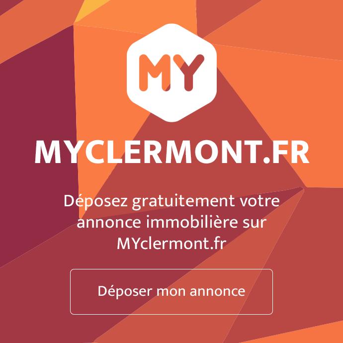Déposez gratuitement votre annonce immobilière sur MYclermont.fr