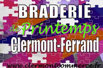 Braderie de printemps Clermont-Ferrand