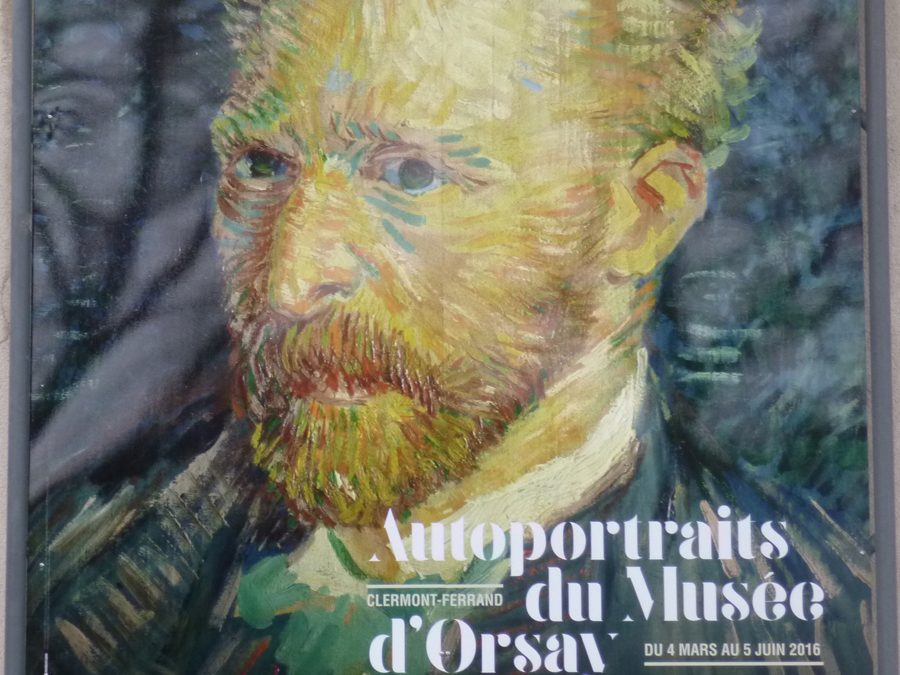 van gogh, autoportraits, musée d'orsay, MARQ, Clermont-ferrand