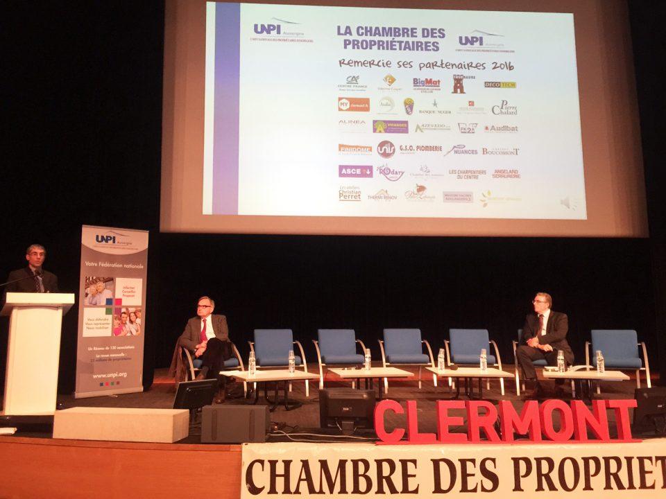 UNPI Auvergne, bailleurs sociaux, propriétaires, chambre des propriétaires