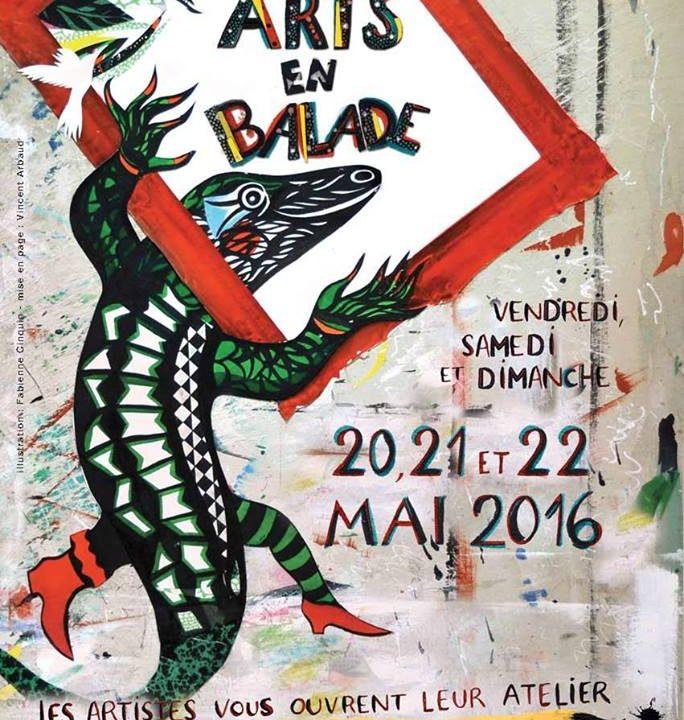 les Arts en Balade, Clermont, Auvergne, artistes, ateliers, peinture, sculpture, dessin, gravure