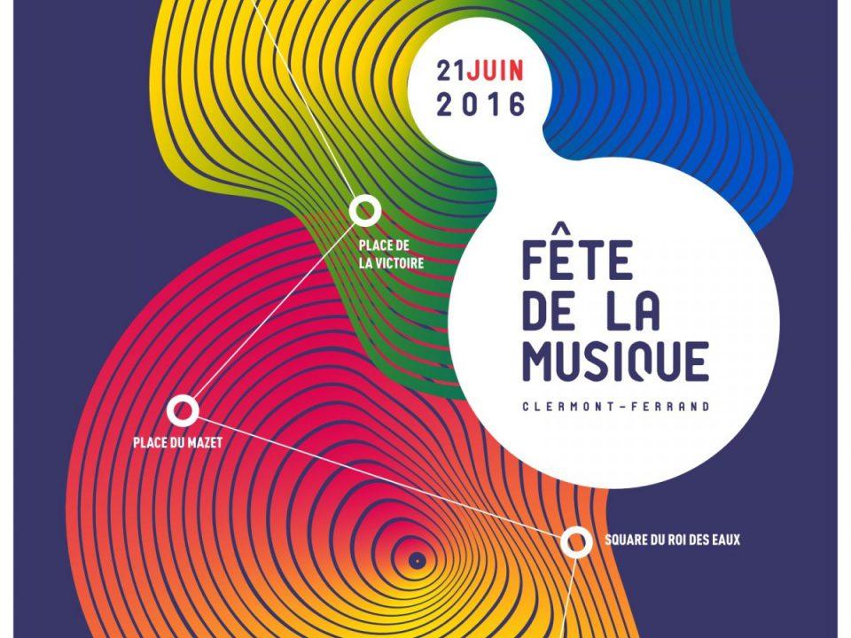 Fête e la musique 2016, Clermont, Clermont-Ferrand, MYclermont, juin, été, soleil, soirée, concerts, musique, ville de Clermont-Ferrand