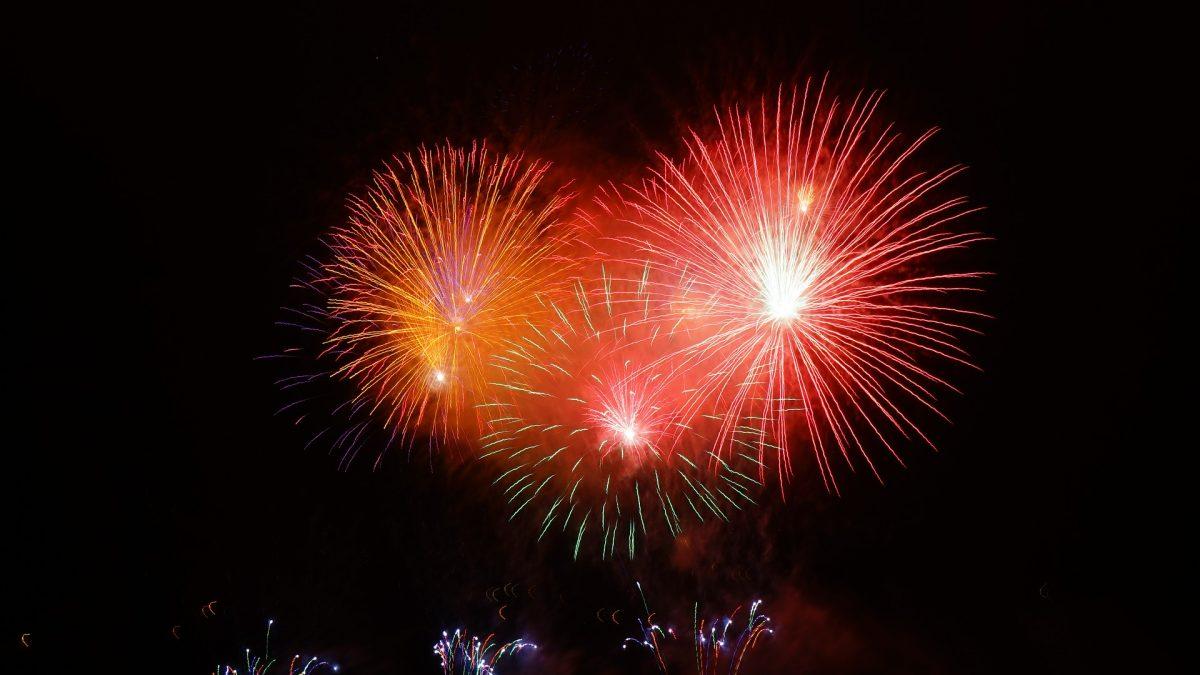 feux d'artifices 14 juillet