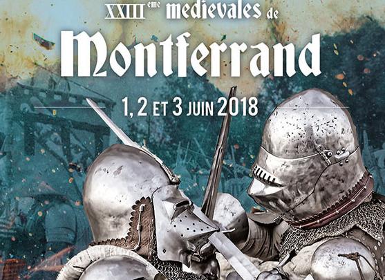 affiche des médiévales de Montferrand 2018