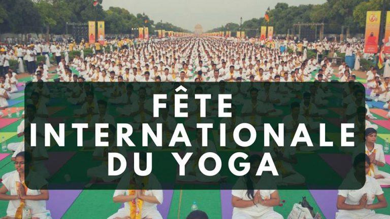 visuel de la fête du yoga de Clermont-Fd