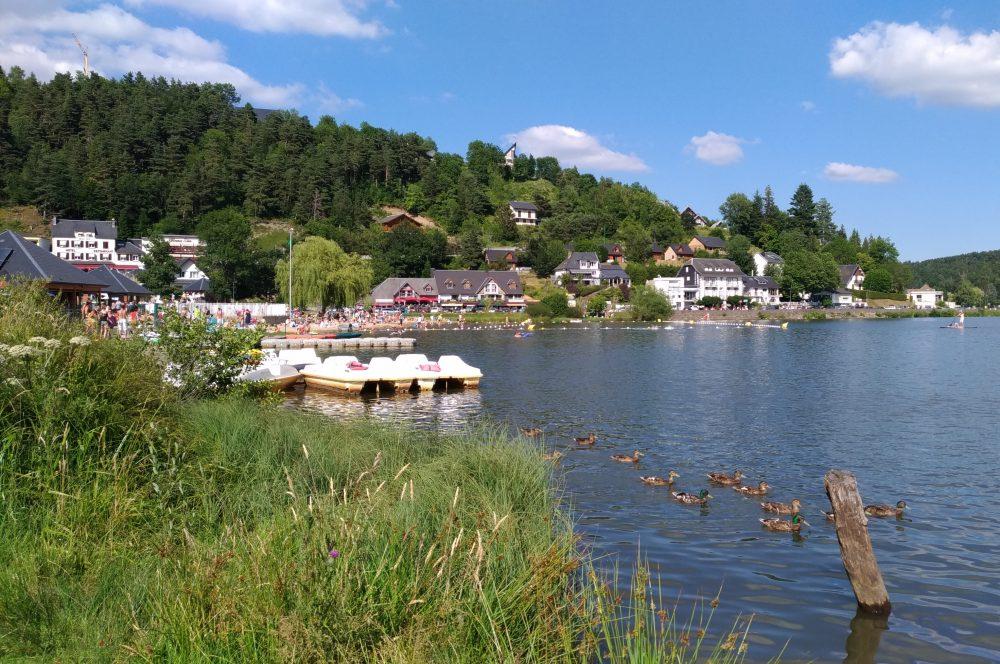 photo lac Chambon