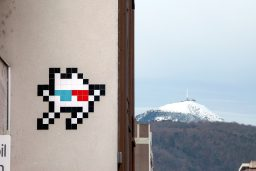 photo invader Clermont