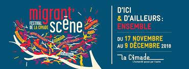 Festival Migrant Scène 2018