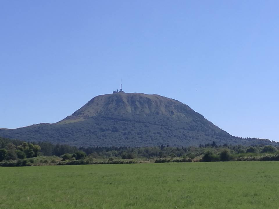 photo du volcan le Puy-de-Dôme