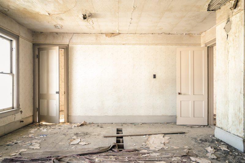 appartement à rénover entièrement