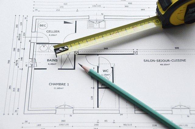 photo plan de construction