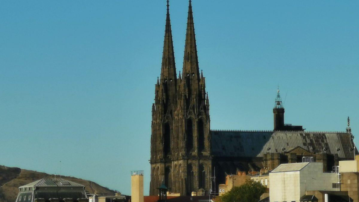 Clermont-Ferrand photo cathédrale